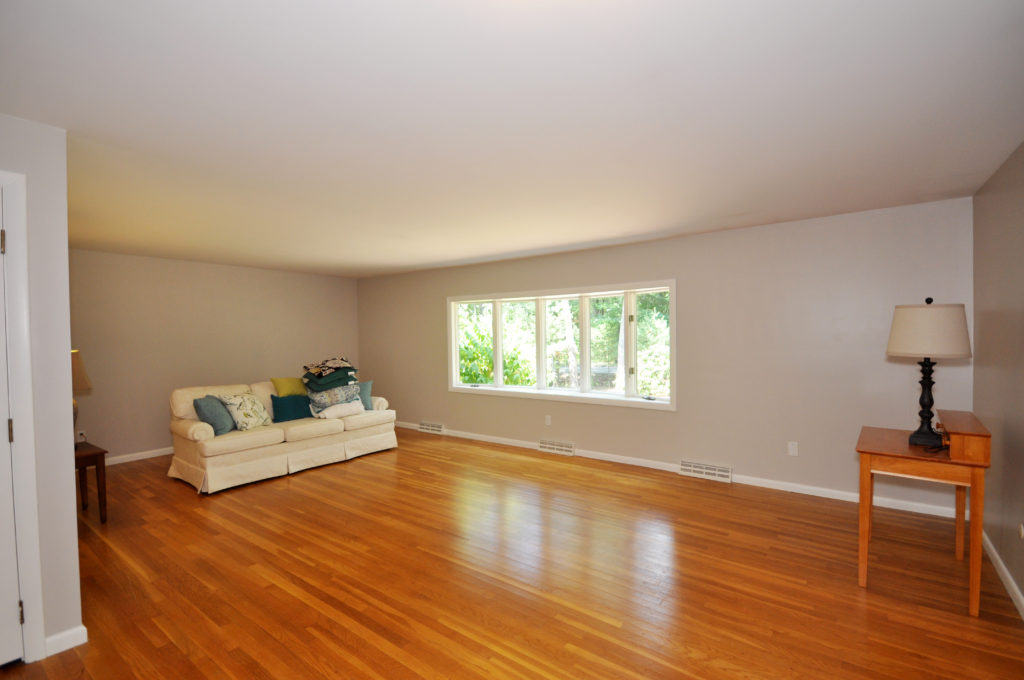 Before staging photo. Staging is an effective strategy to reveal the potential of a room.